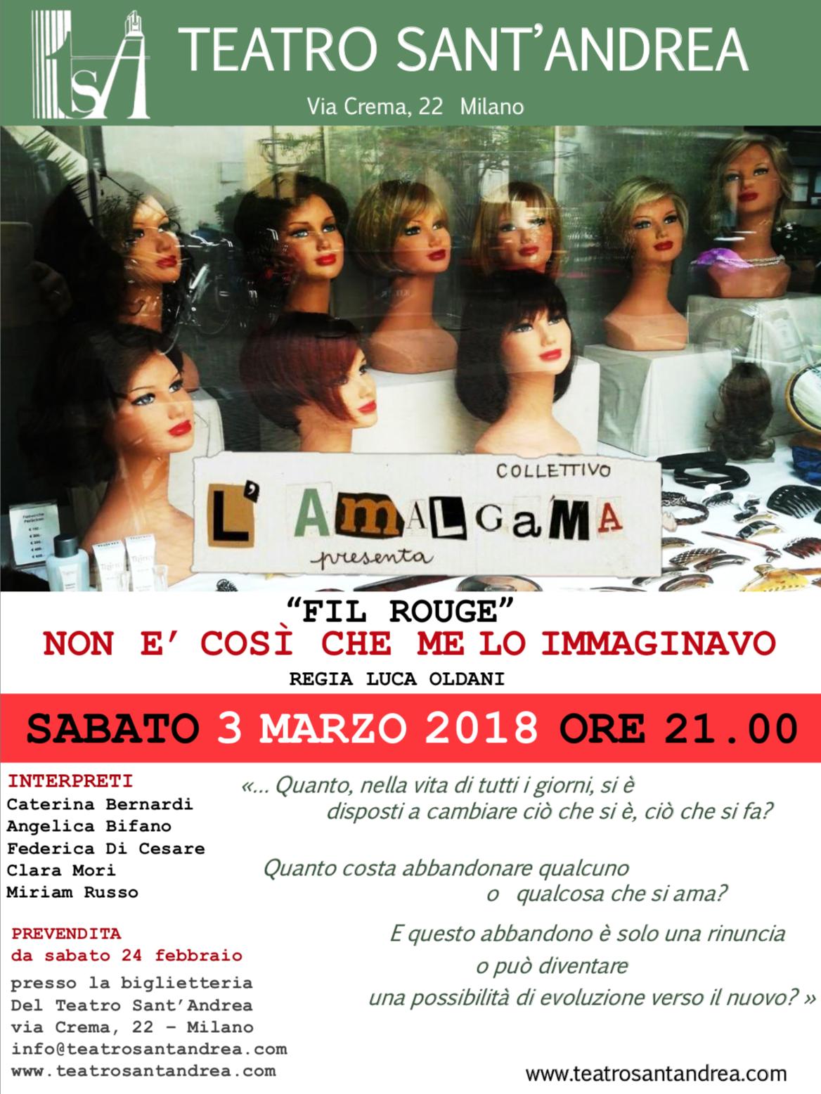 Fil Rouge @ Teatro Sant'Andrea