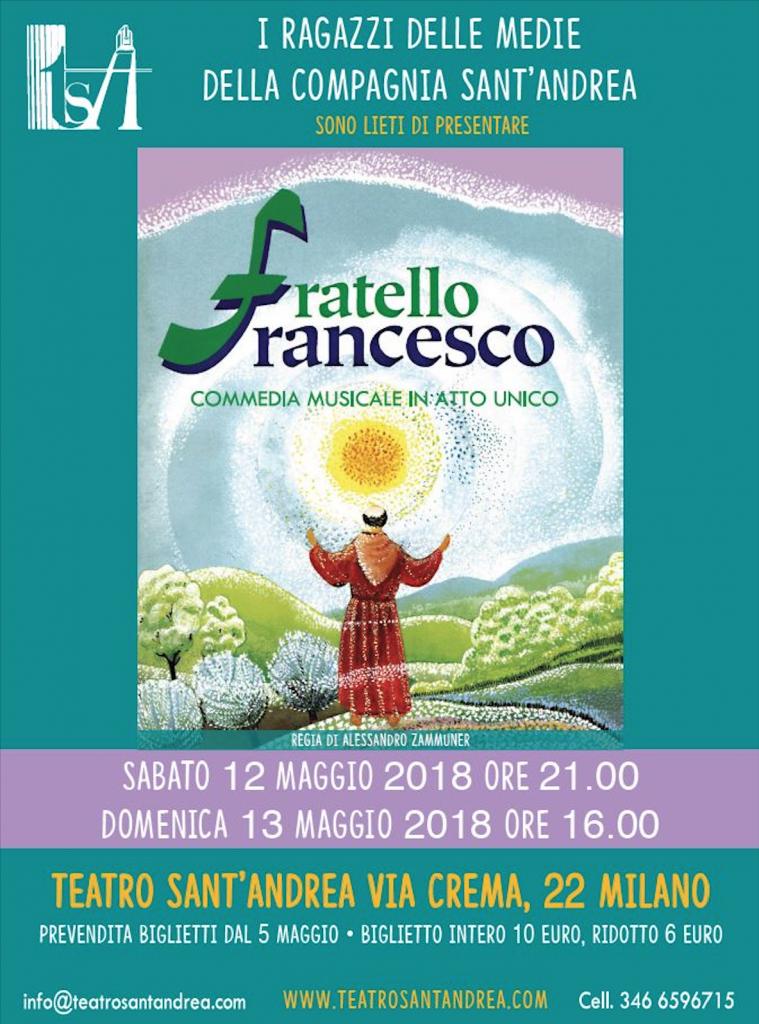 Fratello Francesco @ Teatro Sant'Andrea