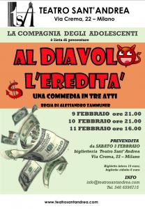 Al Diavolo l'Eredità - Adolescenti @ Teatro Sant'Andrea