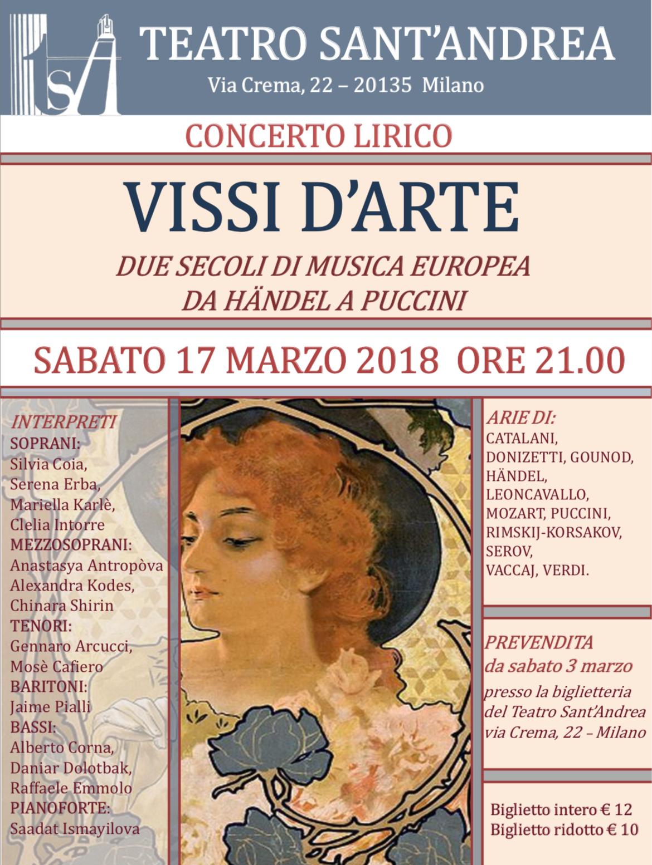 Concerto Lirico @ Teatro Sant'Andrea