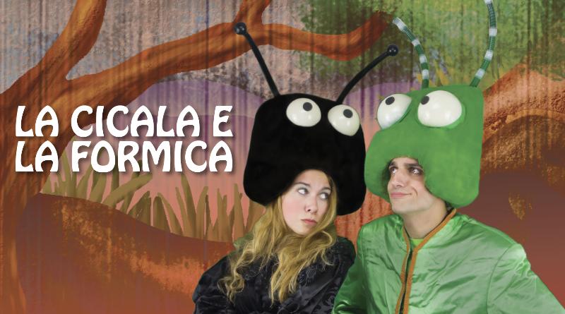 Fantateatro - La Cicala e la Formica @ Teatro Sant'Andrea