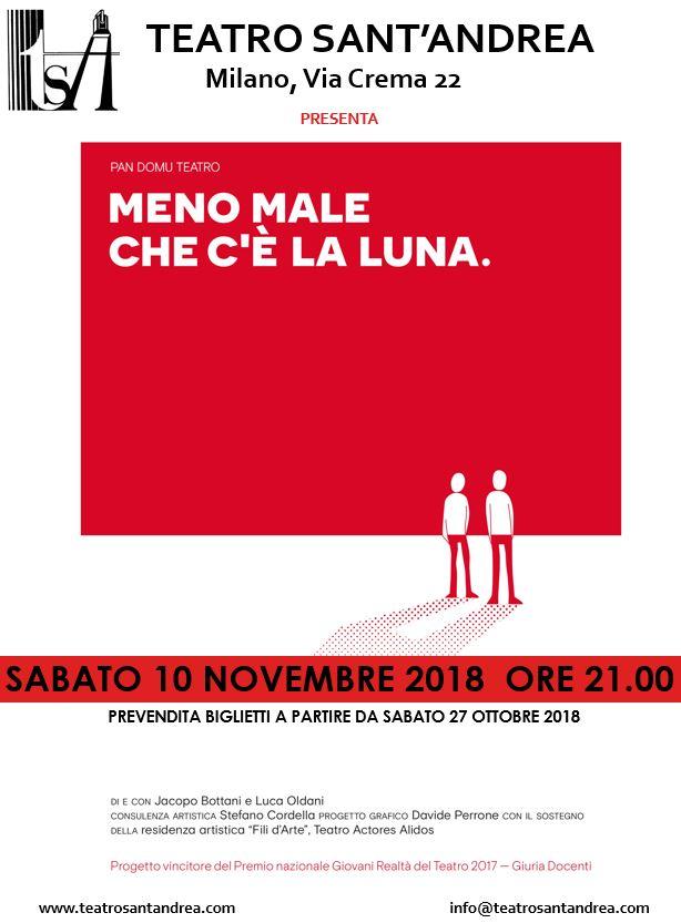 Compagnia Pan Domu - Meno male che c'è la Luna @ Teatro Sant'Andrea
