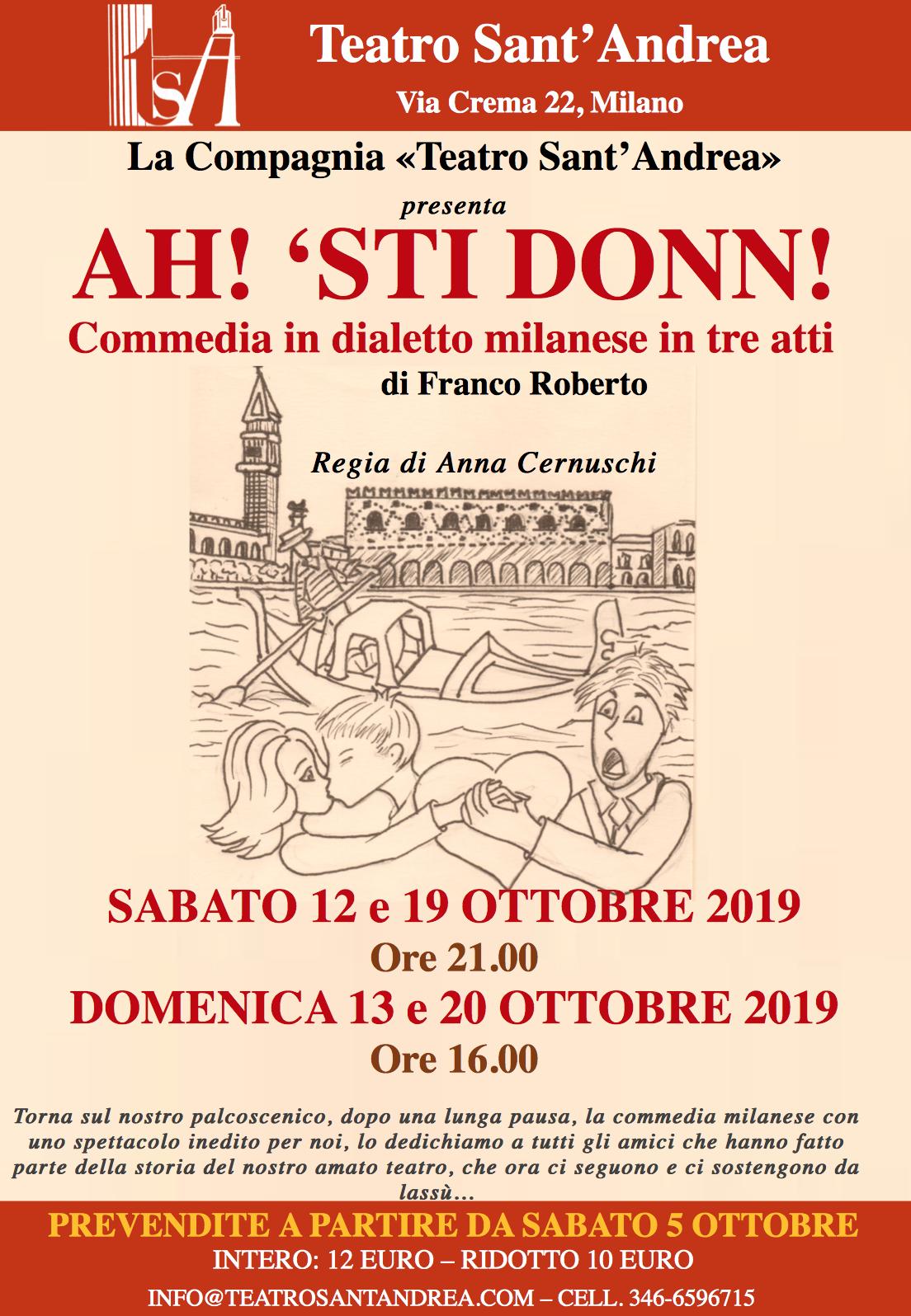Ah! 'sti donn! @ Teatro Sant'Andrea