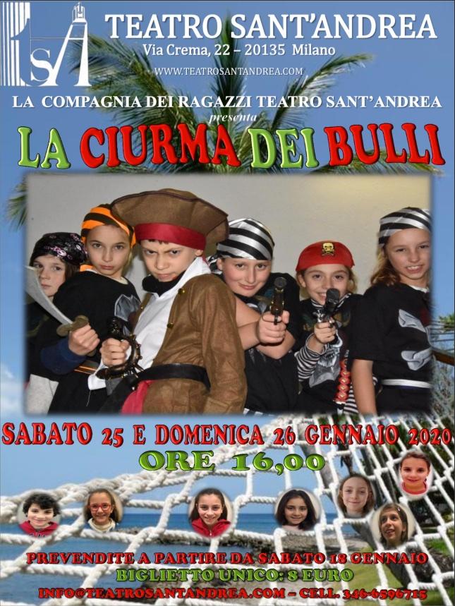 Compagnia TSA Bambini - La Ciurma dei Bulli @ Teatro Sant'Andrea
